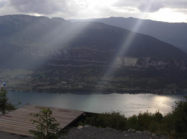 Hangglider launch ramp - Col de la Forclaz, Annecy