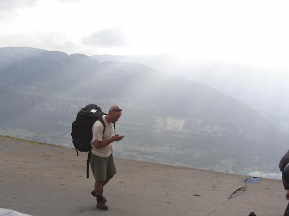 Andy Brazier - Col de la Forclaz, Annecy